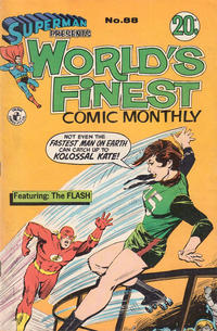 Cover Thumbnail for Superman Presents World's Finest Comic Monthly (K. G. Murray, 1965 series) #88