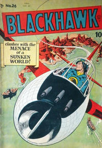 Cover Thumbnail for Blackhawk (Bell Features, 1949 series) #26