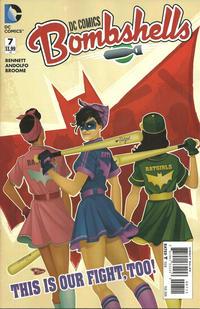 Cover Thumbnail for DC Comics: Bombshells (DC, 2015 series) #7