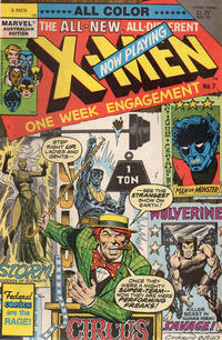 Cover Thumbnail for X-Men (Federal, 1984 ? series) #7