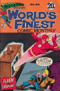 Cover Thumbnail for Superman Presents World's Finest Comic Monthly (K. G. Murray, 1965 series) #90