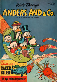 Cover Thumbnail for Anders And & Co. (Egmont, 1949 series) #9/1966