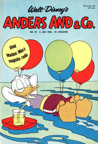 Cover Thumbnail for Anders And & Co. (Egmont, 1949 series) #27/1966