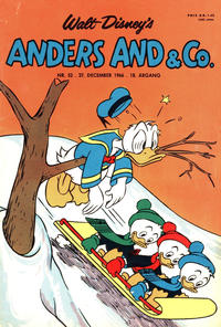 Cover Thumbnail for Anders And & Co. (Egmont, 1949 series) #52/1966