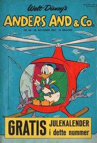 Cover Thumbnail for Anders And & Co. (Egmont, 1949 series) #48/1967