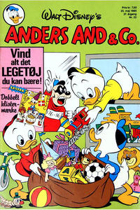 Cover Thumbnail for Anders And & Co. (Egmont, 1949 series) #22/1985