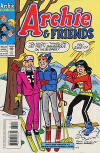 Cover Thumbnail for Archie & Friends (Archie, 1992 series) #34 [Direct Edition]