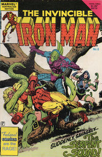 Cover Thumbnail for The Invincible Iron Man (Federal, 1985 ? series) #8