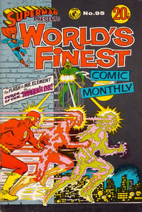 Cover Thumbnail for Superman Presents World's Finest Comic Monthly (K. G. Murray, 1965 series) #95