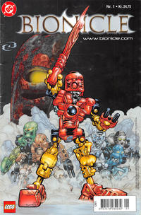 Cover Thumbnail for Bionicle (Egmont, 2003 series) #1