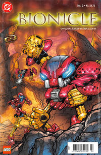 Cover Thumbnail for Bionicle (Egmont, 2003 series) #2