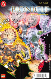 Cover for Bionicle (Egmont, 2003 series) #4