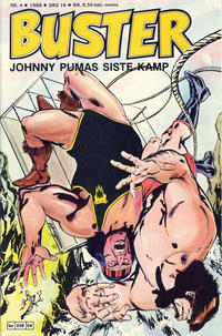 Cover Thumbnail for Buster (Semic, 1984 series) #4/1988