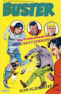 Cover Thumbnail for Buster (Semic, 1984 series) #11/1988