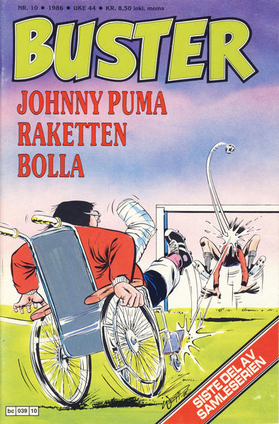 Cover for Buster (Semic, 1984 series) #10/1986