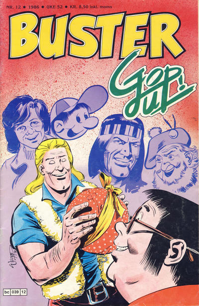 Cover for Buster (Semic, 1984 series) #12/1986