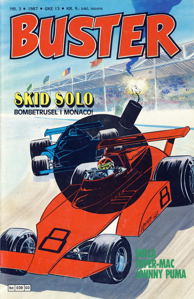 Cover for Buster (Semic, 1984 series) #3/1987