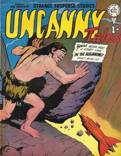 Cover for Uncanny Tales (Alan Class, 1963 series) #19