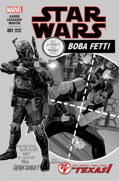 Cover for Star Wars (Marvel, 2015 series) #1 [Seventh Printing Variant]