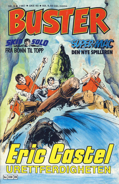 Cover for Buster (Semic, 1984 series) #9/1987