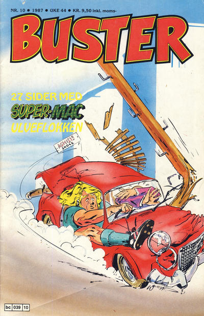 Cover for Buster (Semic, 1984 series) #10/1987