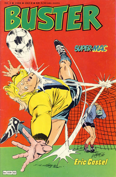 Cover for Buster (Semic, 1984 series) #2/1988