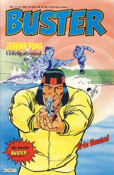 Cover for Buster (Semic, 1984 series) #11/1987