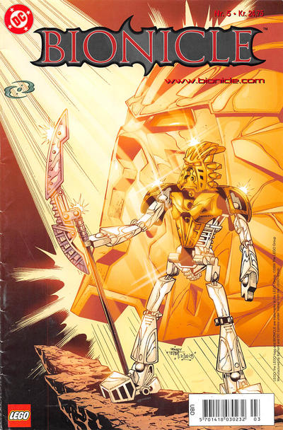 Cover for Bionicle (Egmont, 2003 series) #5
