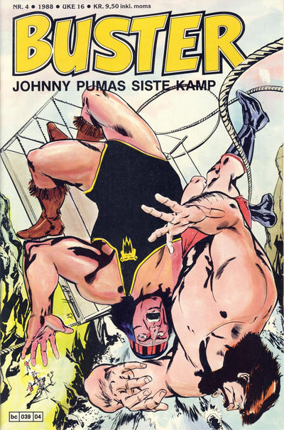 Cover for Buster (Semic, 1984 series) #4/1988