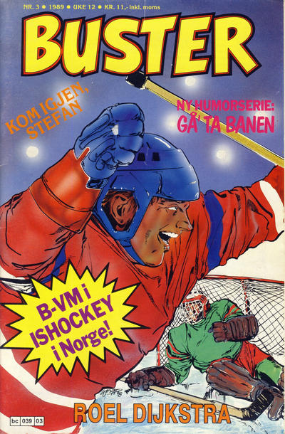 Cover for Buster (Semic, 1984 series) #3/1989