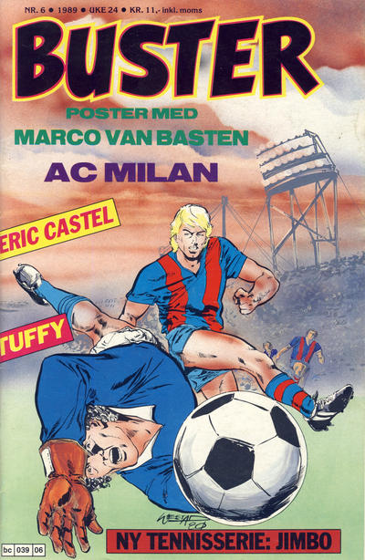 Cover for Buster (Semic, 1984 series) #6/1989