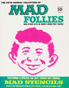 Cover for Mad Follies (EC, 1963 series) #5 [50¢]
