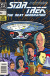 Cover for Star Trek: The Next Generation (DC, 1989 series) #1 [Newsstand]