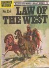 Cover for Sundance Western (World Distributors, 1970 series) #114