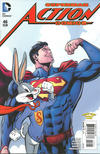Cover for Action Comics (DC, 2011 series) #46 [Looney Tunes Variant Cover]