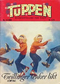 Cover Thumbnail for Tuppen (Serieforlaget / Se-Bladene / Stabenfeldt, 1969 series) #14/1980