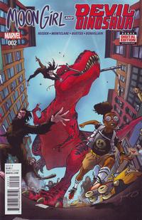 Cover Thumbnail for Moon Girl and Devil Dinosaur (Marvel, 2016 series) #2