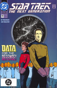 Cover Thumbnail for Star Trek: The Next Generation (DC, 1989 series) #55 [Collector's Pack]