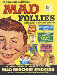 Cover Thumbnail for Mad Follies (EC, 1963 series) #3 [British]