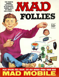 Cover Thumbnail for MAD Follies (EC, 1963 series) #4 [50¢]