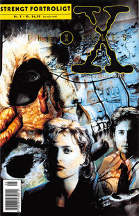 Cover Thumbnail for Strengt fortroligt/X-files (Semic Interpresse, 1996 series) #5