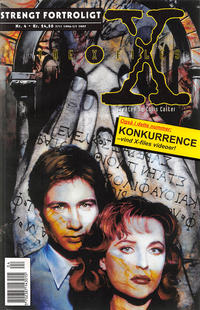 Cover Thumbnail for Strengt fortroligt/X-files (Semic Interpresse, 1996 series) #4
