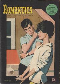 Cover Thumbnail for Romantica (Ibero Mundial de ediciones, 1961 series) #73