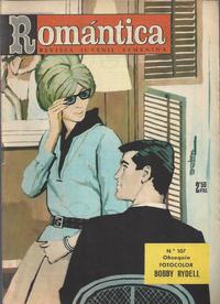 Cover Thumbnail for Romantica (Ibero Mundial de ediciones, 1961 series) #107