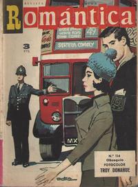 Cover Thumbnail for Romantica (Ibero Mundial de ediciones, 1961 series) #114