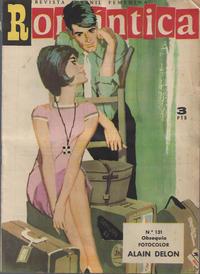 Cover Thumbnail for Romantica (Ibero Mundial de ediciones, 1961 series) #131