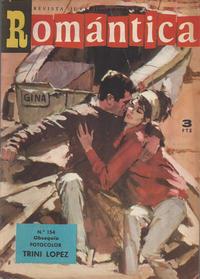 Cover Thumbnail for Romantica (Ibero Mundial de ediciones, 1961 series) #154