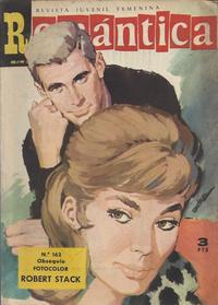 Cover Thumbnail for Romantica (Ibero Mundial de ediciones, 1961 series) #162