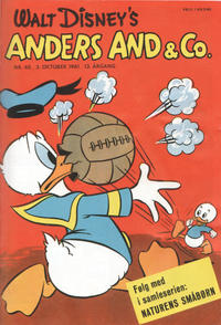 Cover Thumbnail for Anders And & Co. (Egmont, 1949 series) #40/1961