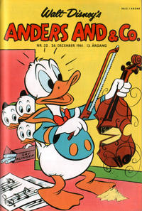 Cover Thumbnail for Anders And & Co. (Egmont, 1949 series) #52/1961